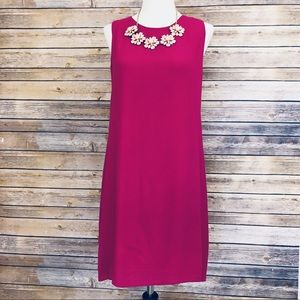 NWOT- Eighty Six Sleeveless Fuchsia Dress